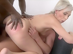 Exotic pornstar Ember Stone in fabulous cumshots, anal sex video
