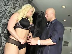 Blonde housewife Alura Jenson gets fucked balls deep overwrought her suitor