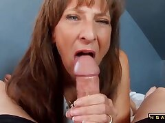 Coquettish Mommy Marie Enjoys A Big Dick All in all Her Juicy Holes