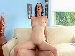 Fabulous pornstar Veronica Snow in hottest brunette, milf adult movie