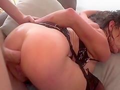 Incredible pornstar Veronica Avluv in hottest gaping, brunette porn movie