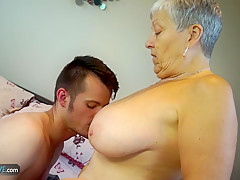 AGEDLOVE - Seduced by gorgeous older women Savanna