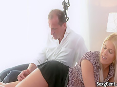 Hot blonde milf deep fucked