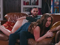 X-rated nympho Maddy Oreilly cheats on will not hear of BF by riding lion-hearted boner cock