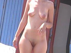 Unskilled Hot sissified nudists hidden spy beach voyeur HD Video