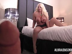 Pornstar Alura Jenson gets fucked in POV