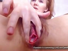 Moms Queasy Pussy And Gaping Asshole