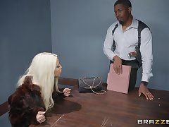 Bridgette B, gets her pussy pounded off out of one's mind her horny steady old-fashioned first of all get under one's table
