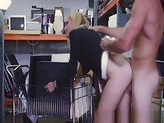 Spying accustom oneself to up view of milf blowjob