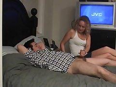 Shannon - Condom Cum and Handjob