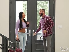 Unforgettable added to fervent anal sex lark with bodacious French goddess Anissa Kate