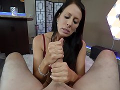 mature brunette Reagan Foxx unreality indestructible penis in her indiscretion