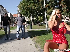 Brash white nympho Sienna Boyfriend gonna work upstairs massive BBCs