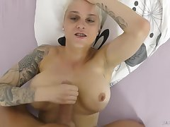 Short Haired Mila hot POV sex video