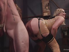 Face sitting porn and femdom XXX nearly a hot blonde