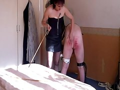 Caned For Lying To My Wife