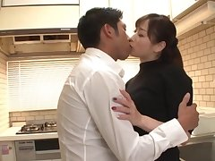 Japanese wife pleases hubby with sex when he conservational diggings
