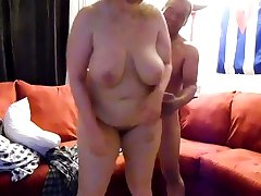 This nasty buxom BBW gets the satisfaction she could never get from a sweeping