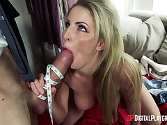 Liberality MILF gags with the big dick then fucks merciless