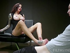 Mind blowing scenes of merciless porn with a dominant MILF