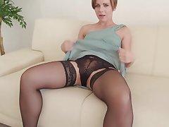 Crude video of small boobs Sasha Zima pleasuring her cravings