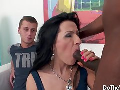 Do A difficulty Wife - Beautiful Wives Devour Black Dicks Compilation