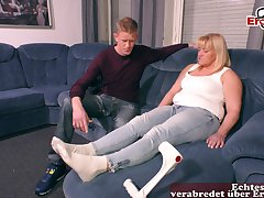 German ugyl mature amateur mummy fuck