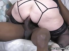 Lacey Starr Takes Overplay The Ass - GrannyLovesBlack
