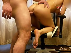 Slutty Nurse Couldnt Repel There Masturbate In Patients Home. She Was Caught Cuming & Fucked