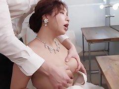 Japanese stunner agreeable porn clip
