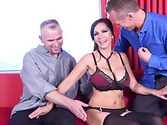 Catalina Cruz swinger couple double penetration
