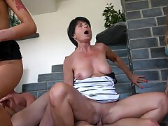 Naughty Valentina loves deployment indestructible cocks with her sexy friends