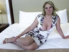 Fat ass and titties blonde MILF