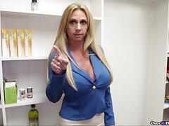 Aroused mature ma wants sperm on those fine jugs