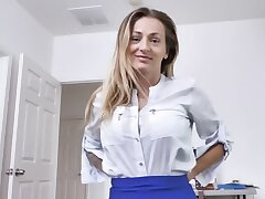 Rafter can't resist fucking the Polish stepmom with big breasts