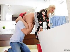 Self-Fister Blonde MILF Brittany Bardot   Squirts during Ass!